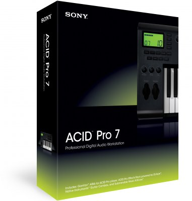 Sony Acid Pro Software