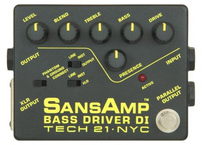 Tech21 SansAmp Bass DI