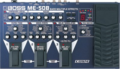 Boss ME-50B Bass Effects