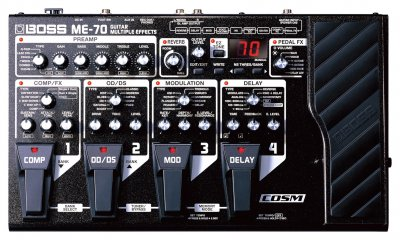 Boss ME-70 Guitar Effects