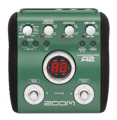 Zoom A2 Acoustic Effects