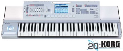 Korg M3-61 61-Key Synth