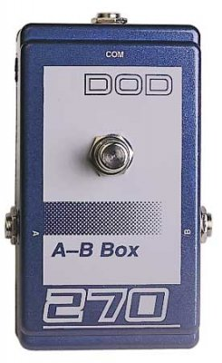 DOD 270 A/B Switch Box