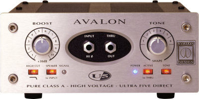 Avalon U5 Class A Preamp